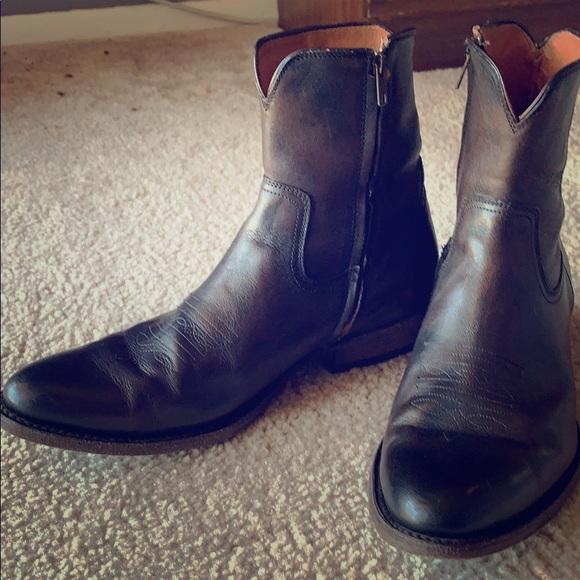 Frye Shoes   Frye Austin Inside Zip